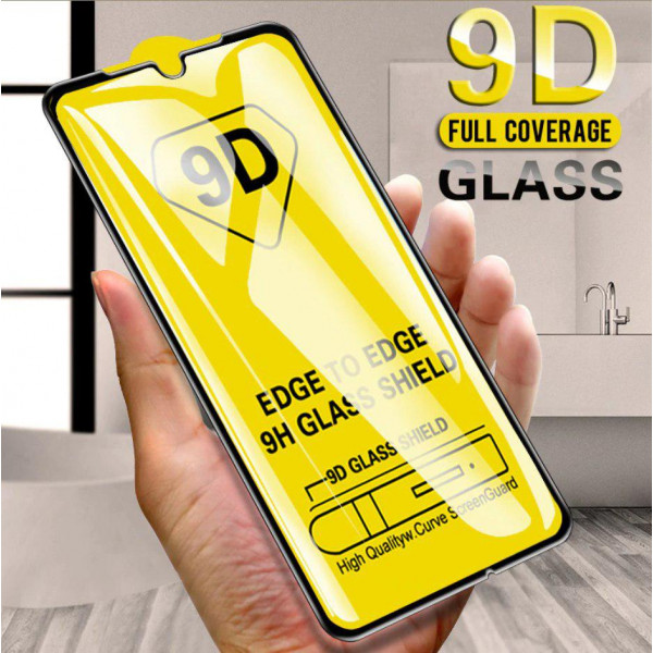 Защитное стекло Full Glue 9D с полным покрытием для Xiaomi Mi Note 10 Lite