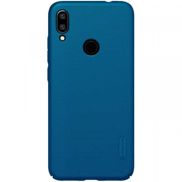 Чехол бампер Nillkin Frosted shield для Xiaomi Redmi 7 Синий