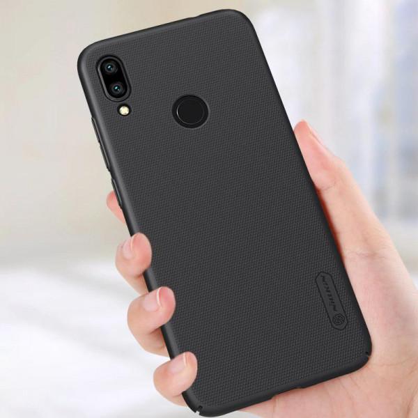 Чехол бампер Nillkin Frosted shield для Xiaomi Redmi Note 7 Черный