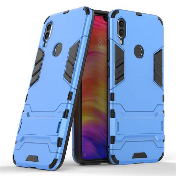 IronMan ультратонкий защитный бампер для Xiaomi Redmi 7 Синий
