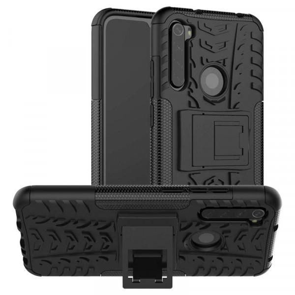 Бронированный бампер для Xiaomi Redmi Note 8T Черный