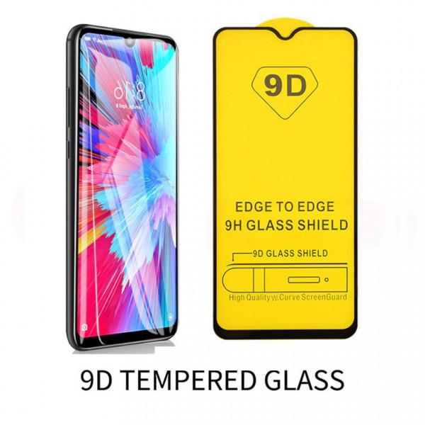 Защитное стекло Full Glue 9D с полным покрытием для Xiaomi Redmi Note 8 Pro