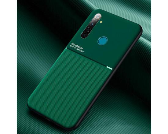 Силиконовый чехол IQS Design для Xiaomi Redmi Note 8T Зеленый