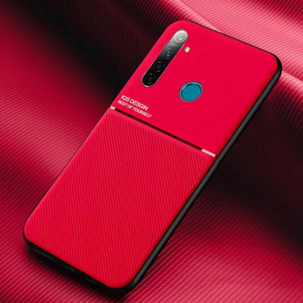 Силиконовый чехол IQS Design для Xiaomi Redmi Note 8 Красный