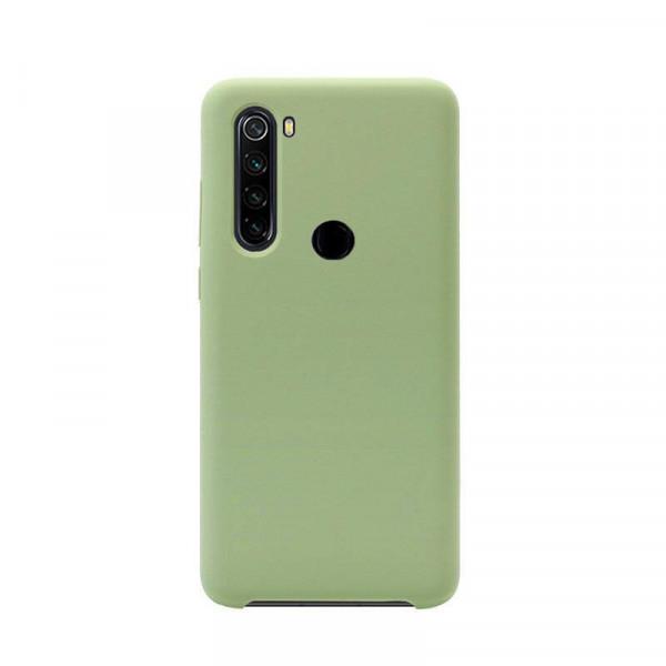 Силиконовый чехол Soft Touch для Xiaomi Redmi Note 8 Зеленый