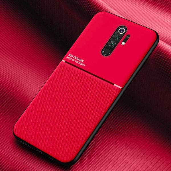 Силиконовый чехол IQS Design для Xiaomi Redmi Note 8 Pro Красный