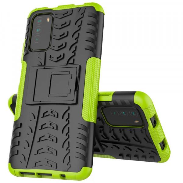 Бронированный бампер для Xiaomi Poco M3 - Зелёный
