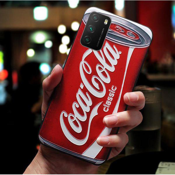 Силиконовый чехол для Xiaomi Poco M3 с 3d-принтом - Cola