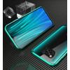 Двухсторонний магнитный чехол для Xiaomi Poco X3 NFC Бирюзовый