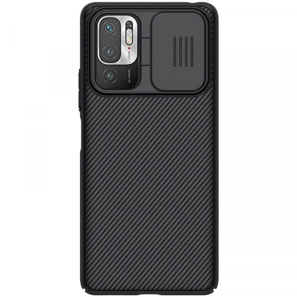 Чехол Nillkin CamShield для Xiaomi Redmi Note 10 5G Чёрный