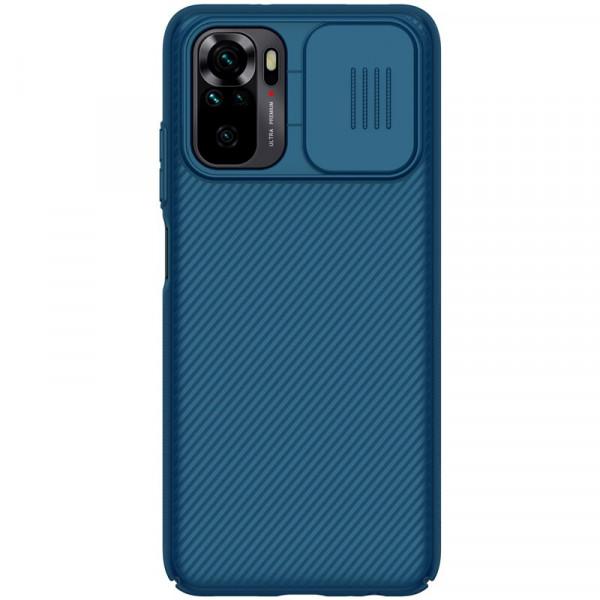 Чехол Nillkin CamShield для Xiaomi Redmi Note 10/10s Синий