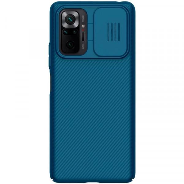 Чехол Nillkin CamShield для Xiaomi Redmi Note 10 Pro Синий