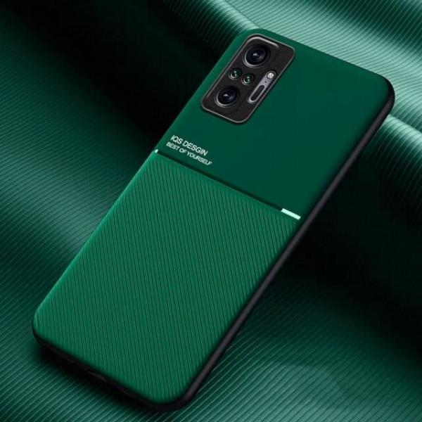 Силиконовый чехол IQS Design для Xiaomi Redmi Note 10 Pro Зелёный