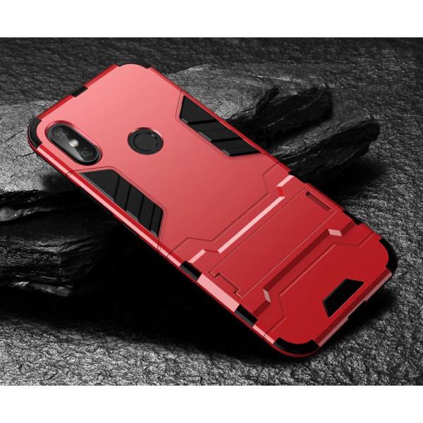 IronMan ультратонкий защитный бампер для Xiaomi Redmi S2 Красный