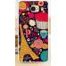 Пластиковый бампер с рисунком для Xiaomi Redmi 2