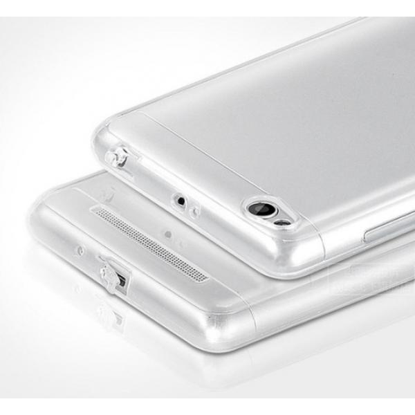 Силиконовый чехол с заглушками для Xiaomi Redmi 3s/Pro