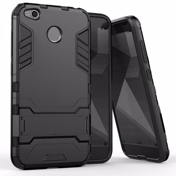 IronMan ультратонкий защитный бампер для Xiaomi Redmi 4X Черный
