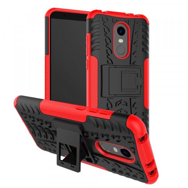 Бронированный силиконовый бампер для Xiaomi Redmi 5 Красный