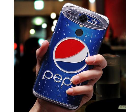 Силиконовый чехол для Xiaomi Redmi 5 с 3d-принтом Pepsi