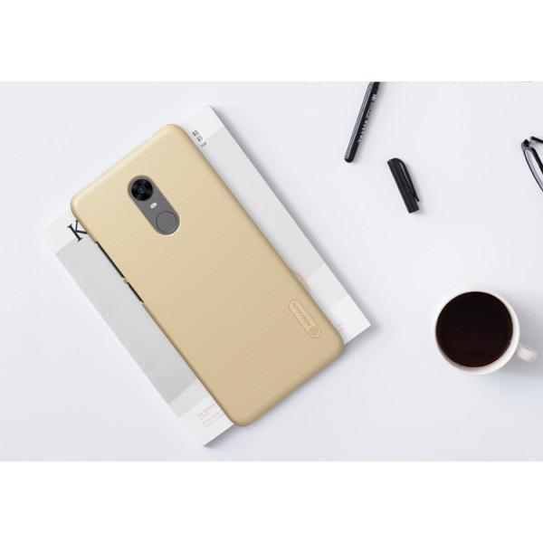 Чехол бампер Nillkin Frosted shield для Xiaomi Redmi 5 Золотистый
