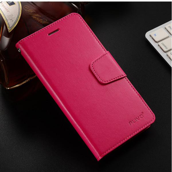 Чехол-книжка ALIVO для Xiaomi Redmi Note 9 Розовый