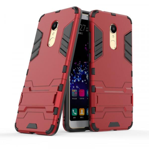 IronMan ультратонкий защитный бампер для Xiaomi Redmi 5 Plus Красный