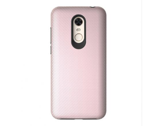 Гибридный чехол для Xiaomi Redmi 5 Розовое золото