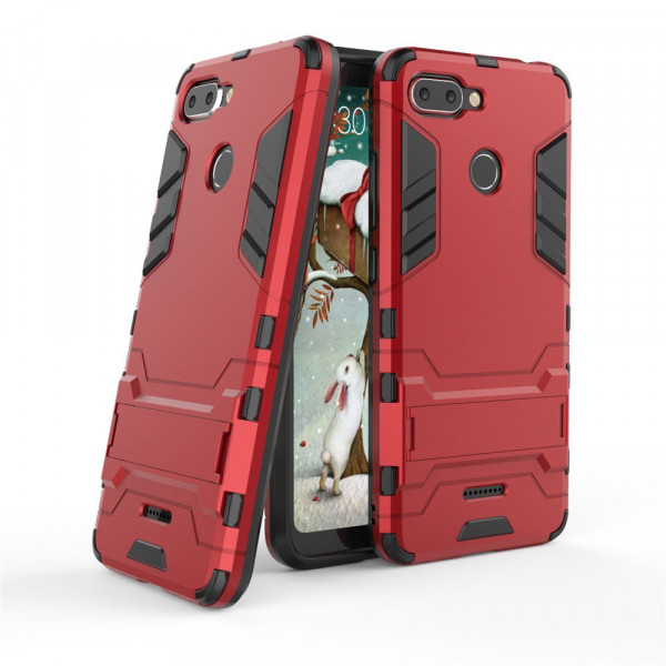 IronMan ультратонкий защитный бампер для Xiaomi Redmi 6 Красный