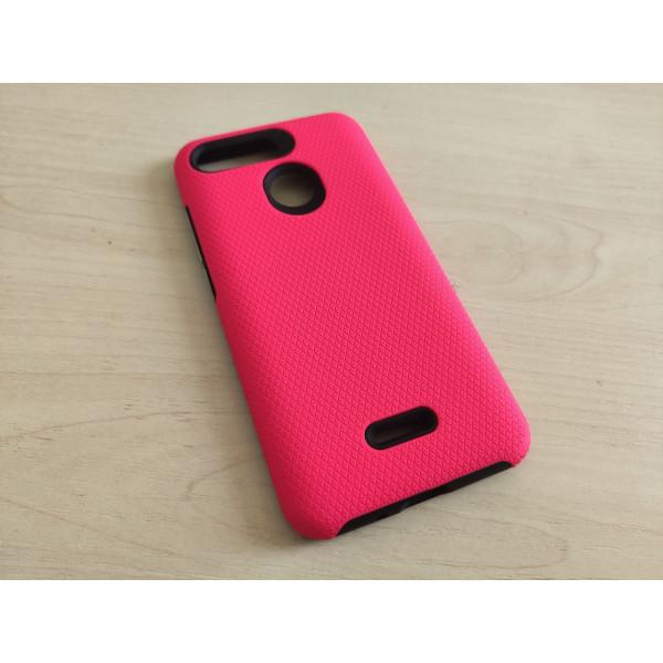 Гибридный чехол для Xiaomi Redmi 6 Розовый