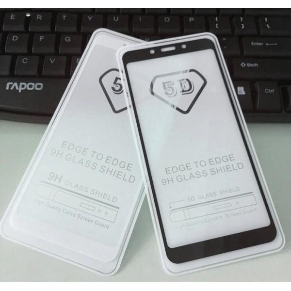 Защитное стекло с полным покрытием 5D для телефона Xiaomi Redmi Note 4X