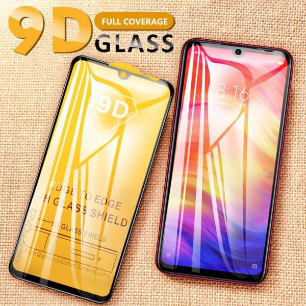 Защитное стекло 9D с полным покрытием для Xiaomi Redmi 7