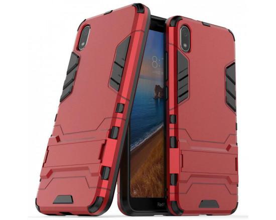 IronMan ультратонкий защитный бампер для Xiaomi Redmi 7a Красный