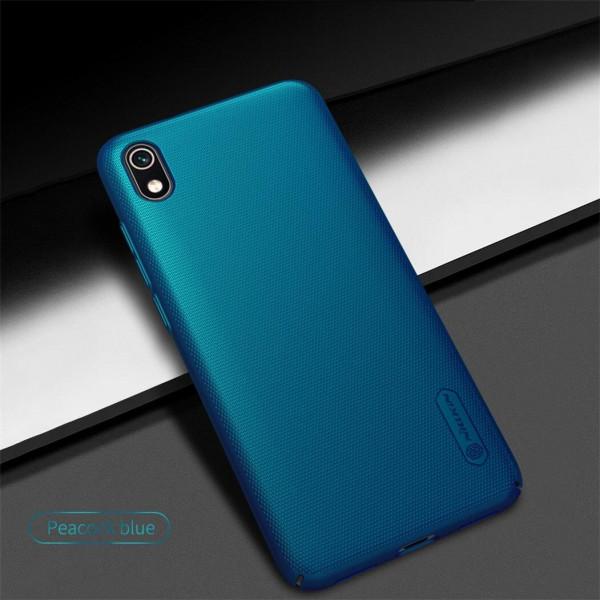 Чехол бампер Nillkin Frosted shield для Xiaomi Redmi 7a Синий