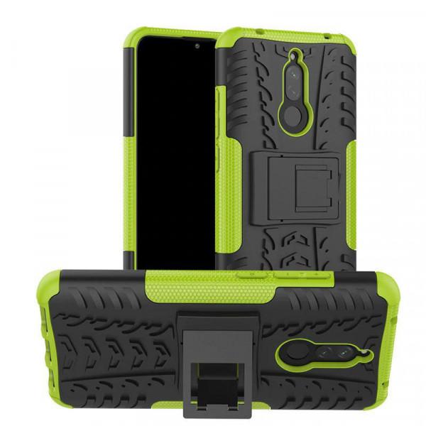 Бронированный бампер для Xiaomi Redmi 8 - Зеленый
