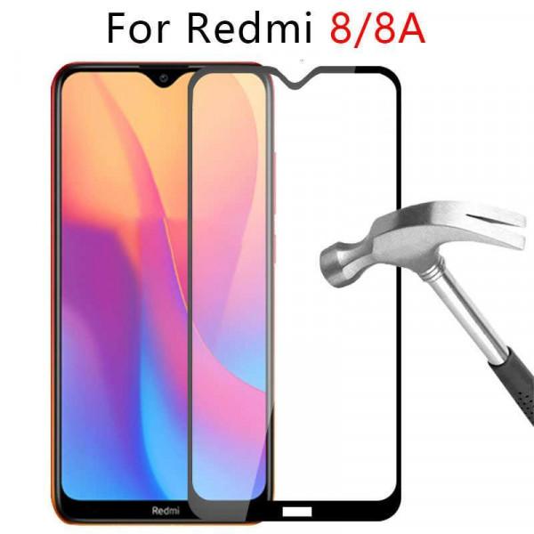 Защитное стекло 9D с полным покрытием для Xiaomi Redmi 8
