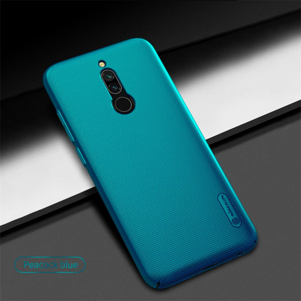 Чехол бампер Nillkin Frosted shield для Xiaomi Redmi 8 Синий