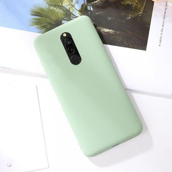 Силиконовый чехол Soft Touch для Xiaomi Redmi 8 - Зеленый