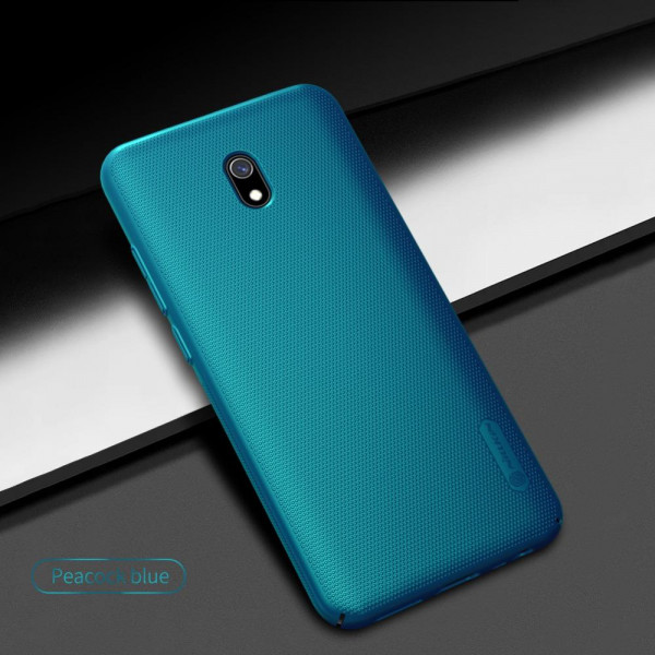 Чехол бампер Nillkin Frosted shield для Xiaomi Redmi 8a Синий