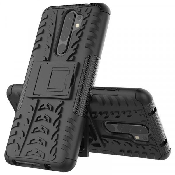 Бронированный бампер для Xiaomi Redmi 9 - Черный