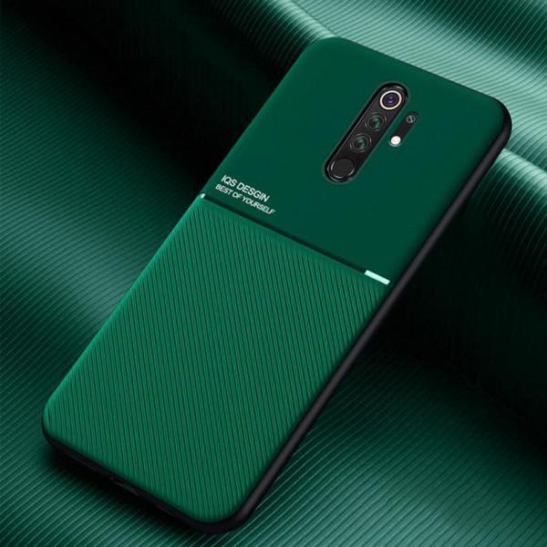 Силиконовый чехол IQS Design для Xiaomi Redmi 9 Зеленый