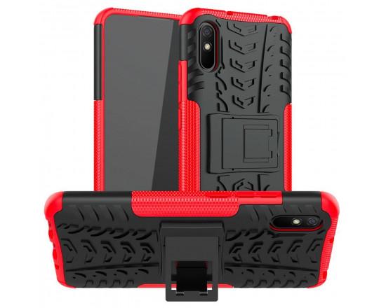 Бронированный бампер для Xiaomi Redmi 9a Красный