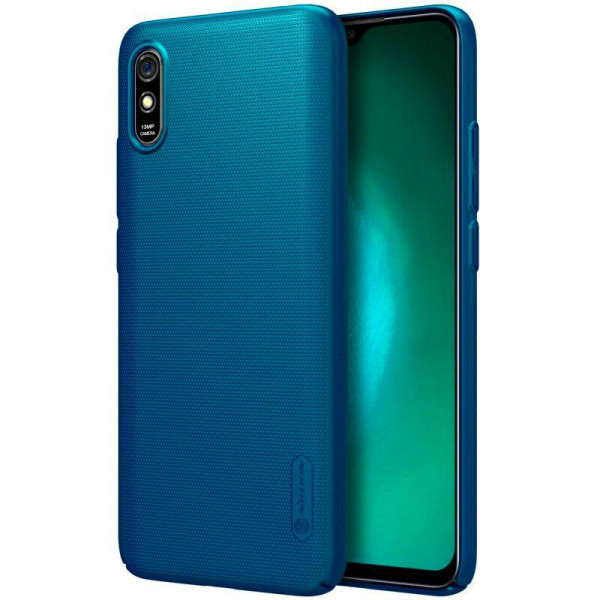 Чехол бампер Nillkin Frosted shield для Xiaomi Redmi 9a Синий