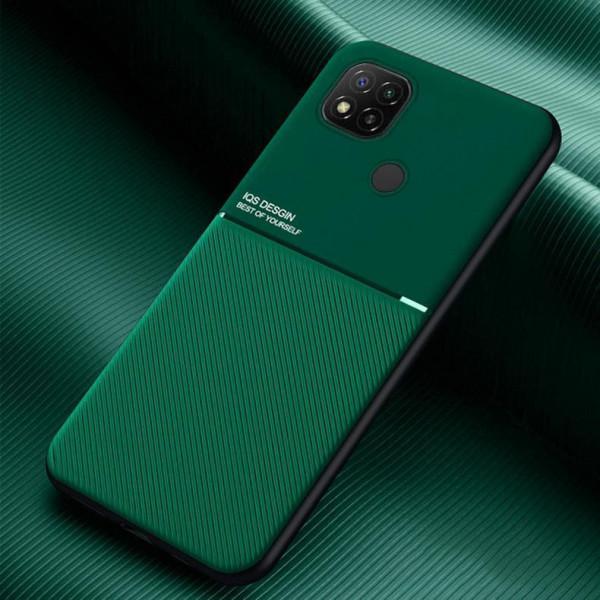 Силиконовый чехол IQS Design для Xiaomi Redmi 9c - Зелёный