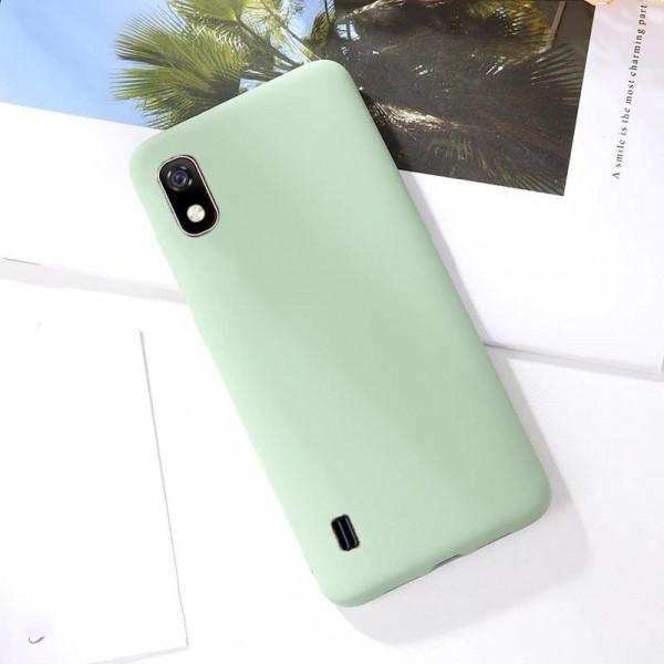 Силиконовый чехол Soft Touch для Samsung A10 Зелёный