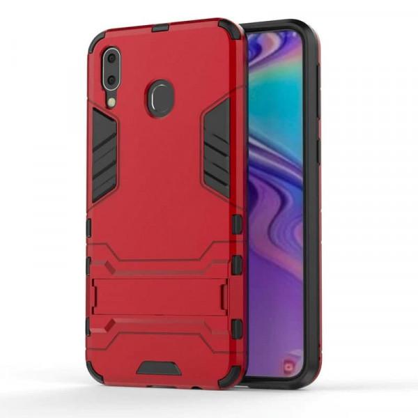 IronMan ультратонкий защитный бампер для Samsung A10s Красный
