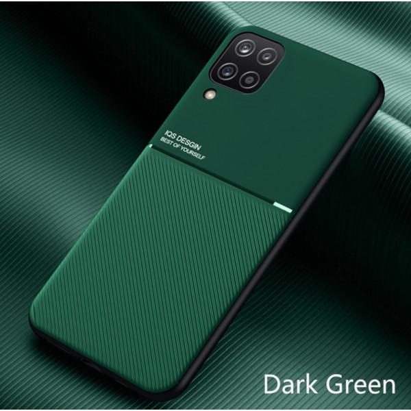 Силиконовый чехол IQS Design для Samsung Galaxy A12 Зеленый