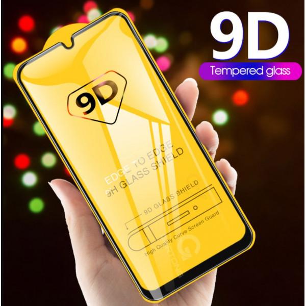 Защитное стекло Full Glue 9D с полным покрытием для Samsung A71
