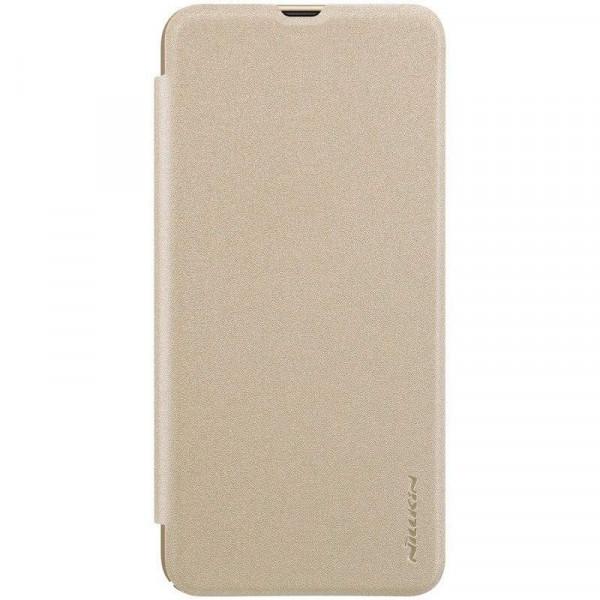 Флип-чехол Nillkin Sparkle Series для Samsung A30/A20 Золотой