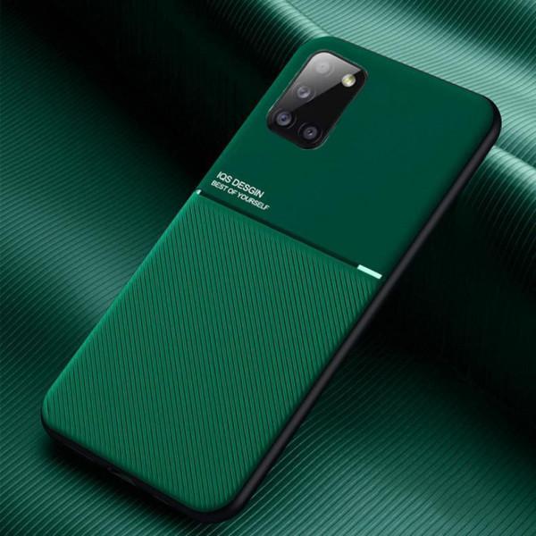 Силиконовый чехол IQS Design для Samsung Galaxy A31 Зеленый