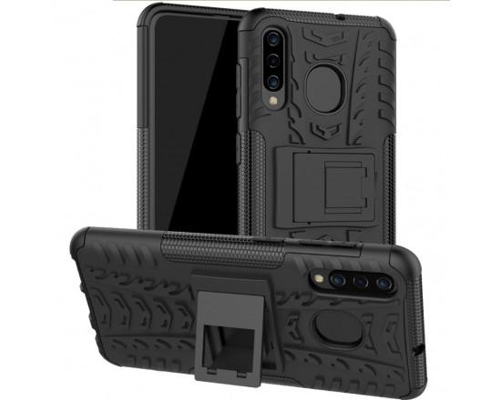 Бронированный бампер для Samsung A50s/A50/A30/A30s/A20 Черный